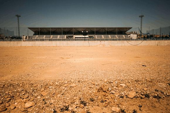 licitación de un campo de futbol