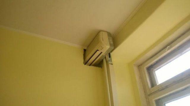 enfriar dos habitaciones con un aparato