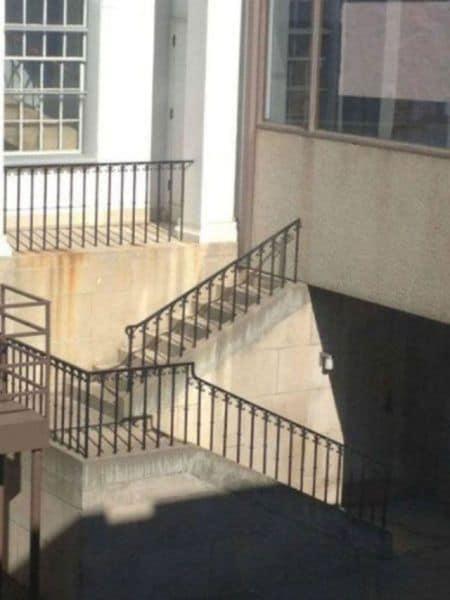 escaleras sin puertas
