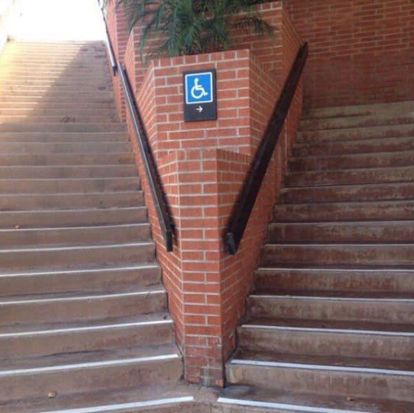 Escaleras para minusvalidos